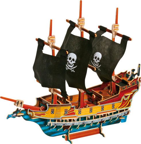 3D Puzzle Piratenschiff